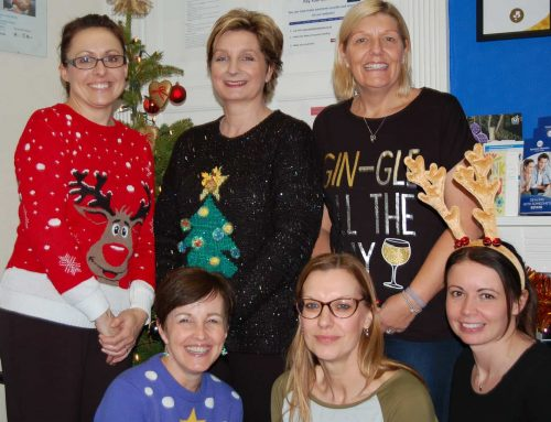 Donna Louise Trust Christmas Jumper Day At Beeston Shenton