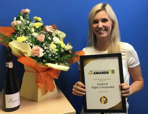 Kay reaches finals of Employee of the Year award